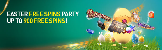 Easter Free Spins Party