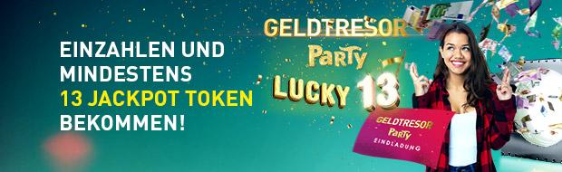 Geldtresor-Party: Lucky 13
