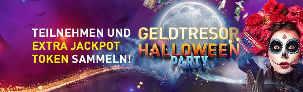 Geldtresor: Halloween Party